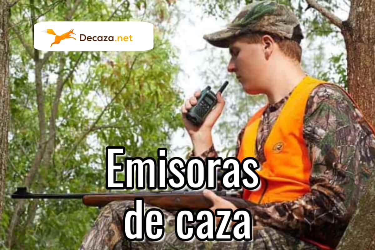 emisoras de caza walkie talkies