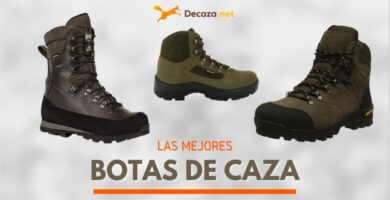 botas de caza