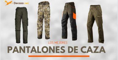mejores pantalones de caza